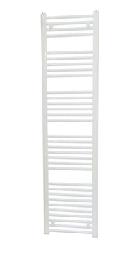 Straight White Dolomite Towel Rail