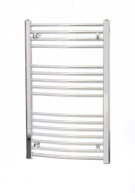 DOLOMITE CURVED CHROME TOWEL RAIL