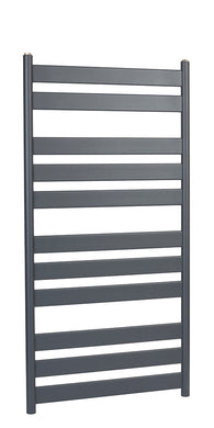 SERENA FLAT BAR ANTHRACITE TOWEL RAIL