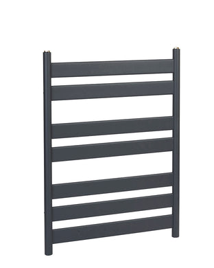 SERENA ANTHRACITE FLAT BAR TOWEL RAIL
