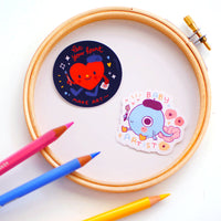 Baby artist - Vinyl stickers set