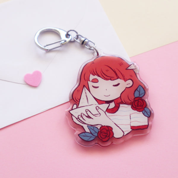 Wish on a paper boat - Acrylic keychain