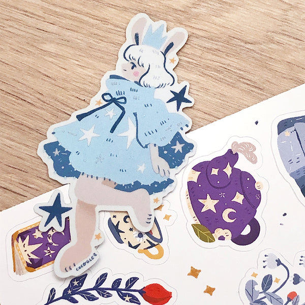 Hop on a wish - Holo Vinyl sticker