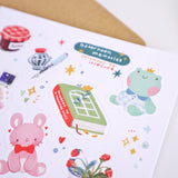 Afternoon Memories - Vinyl sticker sheet