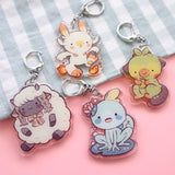 Pocket Buddies - Acrylic Keychains