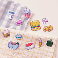 Kitty Foods - Sticker Pack