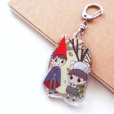 Over the garden wall - Acrylic Keychain