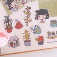 Plant Friends sticker pack