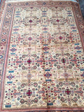 "Authentic Hand Knotted Turkish Rugs Collection Traditional Hand-Knotted Pattern Oriental Wool Area Rug  4'0"" X  6'0"" ABCRT-TK025"