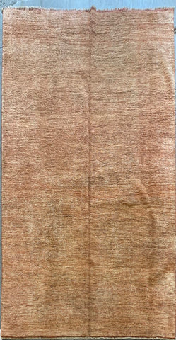 AFGHANI MODERN TRADITIONAL HAND-KNOTTED RUG MADE WITH NATURAL WOOL AND COTTON 7'3'' X 6'1''  ABC3820