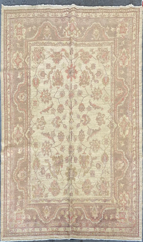 AFGHANI TRADITIONAL HAND-KNOTTED RUG MADE WITH NATURAL WOOL AND COTTON 7'8'' X 6'1''  ABC0020049
