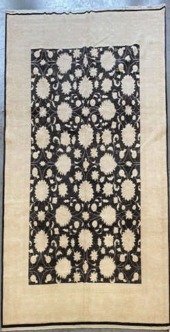 PAKISTANI CHOOBI TRADITIONAL HAND-KNOTTED RUG MADE WITH NATURAL WOOL 11'2'' X 8'2''  ABC8548