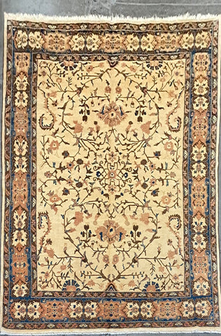 AFGHANI OUSHAK HAND-KNOTTED RUG MADE WITH NATURAL 100% WOOL 11'9'' X 8'8'  ABC0020143