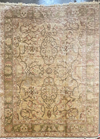 Turkish Traditional Style Hand-Knotted 100% Natural Wool Rug 8'11'' X 11'8'' ABCTK20006