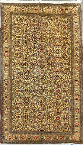 "Turkish Traditional Style Natural Wool Rug 6'8"" X 9'7"" ABCTK001"
