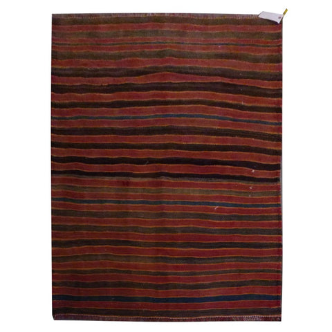 PERSIAN VINTAGE HAND-KNOTTED KILIM MADE WITH NATURAL WOOL AND COTTON 188 X 105cm ABC1871