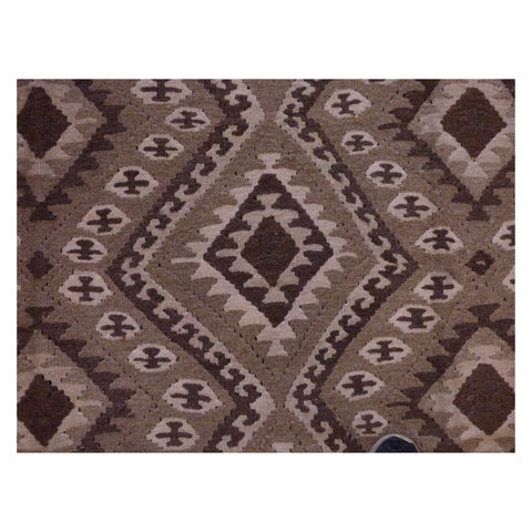 AFGHANI MAIMANA HAND-KNOTTED KILIM MADE WITH NATURAL WOOL AND COTTON 5'2'' X 9' ABC312