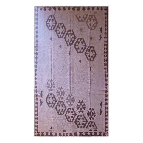 PERSIAN ARDABIL VINTAGE HAND-KNOTTED KILIM MADE WITH NATURAL WOOL AND COTTON 8'9'' X 5'5'' ABC330