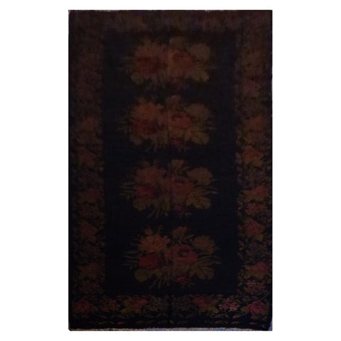 TURKISH HAND-KNOTTED KILIM MADE WITH NATURAL WOOL AND COTTON 6'2'' X 14 ABC1005