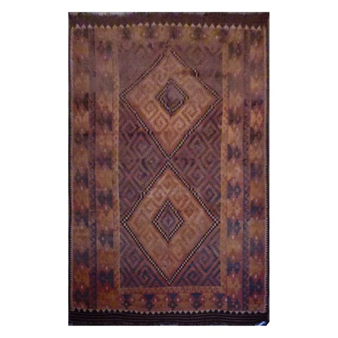 AFGHAN HAND-KNOTTED KILIM MADE WITH NATURAL WOOL AND COTTON 15'8'' X 9'3'' ABC1139