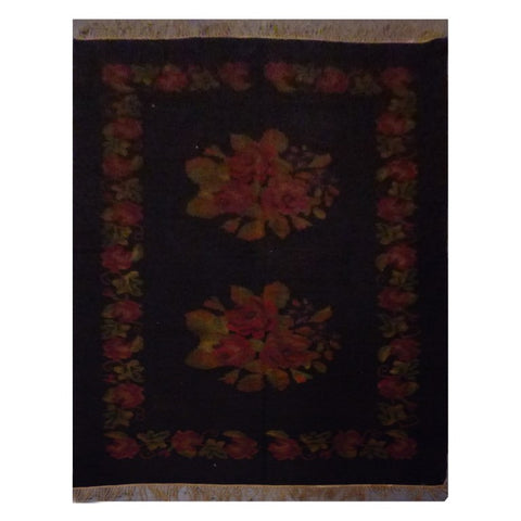 TURKISH HAND-KNOTTED KILIM MADE WITH NATURAL WOOL AND COTTON 5'9'' X 10' ABC1004