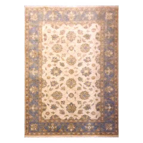 AFGHANI  HAND-KNOTTED RUG MADE WITH NATURAL WOOL AND COTTON 5'8'' X 4'  ABC0