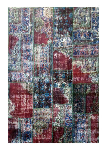 Turkish Hand-Knotted 100% Natural Wool Rug 8'0'' X 5'10'' ABC020742