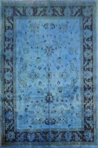 Authentic Pakistani Hand-Knotted Natural Wool Rug 10'7'' X 7'10'' ABC0020337