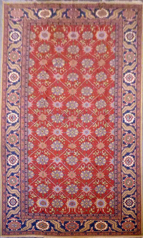 AFGHANI SUMAK HAND-KNOTTED RUG MADE WITH NATURAL WOOL AND COTTON 9'6'' X 16'0''  ABC5022