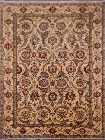 AFGHANI HAND-KNOTTED RUG MADE WITH NATURAL WOOL AND COTTON 12'1'' X 9'1''  ABC0021618