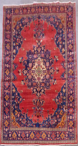 "PERSIAN TABRIZ HAND-KNOTTED RUG MADE WITH NATURAL WOOL & COTTON 10'5'' X 8'3"" ABCR02137"