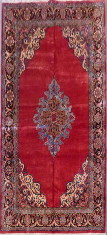 "PERSIAN WISS HAND-KNOTTED RUG MADE WITH NATURAL WOOL & COTTON 11'3'' X 7'1"" ABCR02903"
