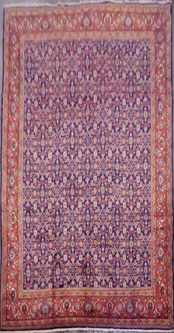 "PERSIAN MAHAL HAND-KNOTTED RUG MADE WITH NATURAL WOOL & COTTON 12'5'' X 9'8"" ABCR02909"