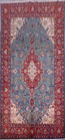 "PERSIAN TABRIZ HAND-KNOTTED RUG MADE WITH NATURAL WOOL & COTTON 13'1'' X 9'10"" ABCR02155"