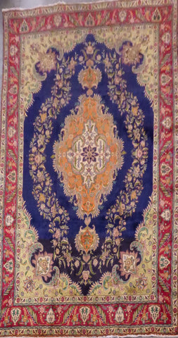 "PERSIAN TABRIZ HAND-KNOTTED RUG MADE WITH NATURAL WOOL & COTTON 13'2'' X 9'8"" ABC249"