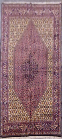 "PERSIAN BIDJAR HAND-KNOTTED RUG MADE WITH NATURAL WOOL & COTTON 10'0'' X 6'10"" ABCR02857"