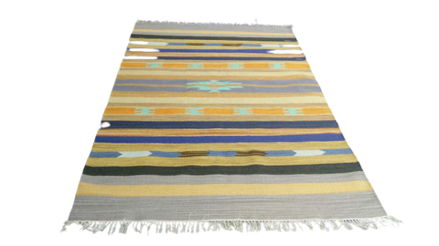 Sebys Wool Cotton Indian  Killim 5' X 8' ABCW07009