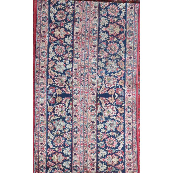 "Persian najafabad Authentic Hand-Knotted Traditonal Vintage Persian Rugs Natural Wool and Cotton Multicolor Area Rug  10'4""  X  6'4"" ABCR06576"