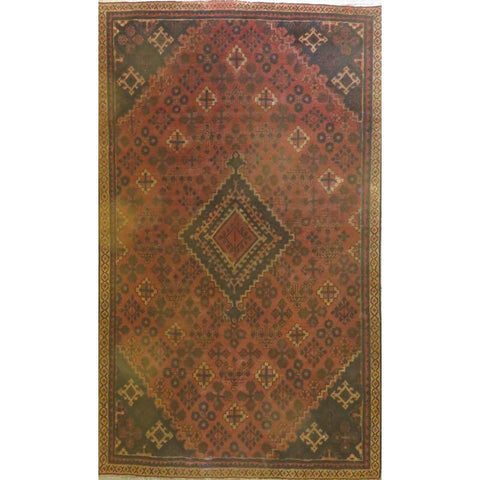 "Persian tabriz Authentic Hand-Knotted Traditonal Vintage Persian Rugs Natural Wool and Cotton Multicolor Area Rug  11'6""  X  8'8"" ABCR06738"