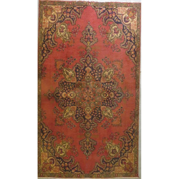 "Persian tabriz Authentic Hand-Knotted Traditonal Vintage Persian Rugs Natural Wool and Cotton Multicolor Area Rug  12'4""  X  9'4""  ABCR06740"
