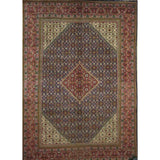 "Persian mahal Authentic Hand-Knotted Traditonal Vintage Persian Rugs Natural Wool and Cotton Multicolor Area Rug  13'1""  X  9'8"" ABCR06815"