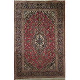 "Persian ardakan Authentic Hand-Knotted Traditonal Vintage Persian Rugs Natural Wool and Cotton Multicolor Area Rug  11'5""  X  8'3"" ABCR06818"