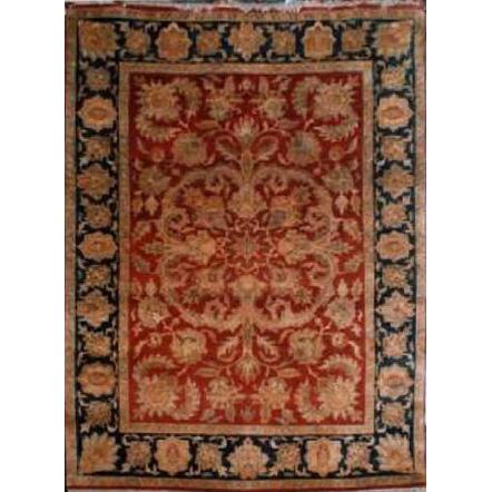 "Home Collection Afghani Style Oriental Hand-Knotted Rug with Natural Wool Area  5'6""  X  7'8"" ABCR02378"