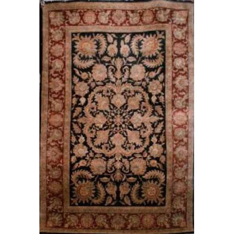 "Home Collection Afghani Style Oriental Hand-Knotted Rug with Natural Wool Area  10'1""  X  6'0"" ABCR02379"