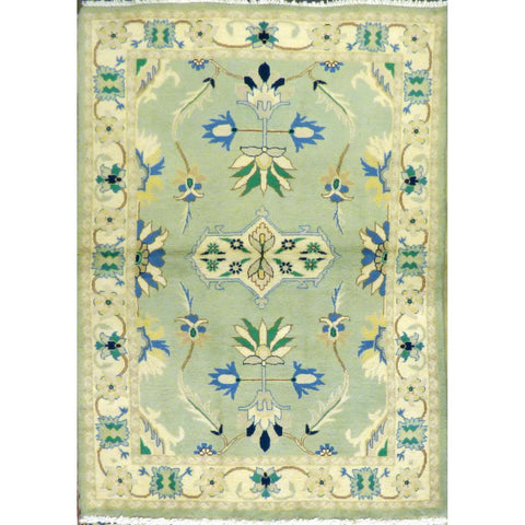 "persian rug sarough Traditional Style Hand-Knotted Indoor Area Rug with Natural Wool and Cotton (6'2"" X 4'0"") ABCRG1011"