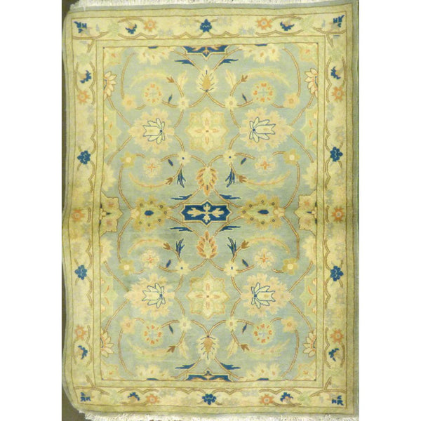 "persian rug sarough Traditional Style Hand-Knotted Indoor Area Rug with Natural Wool and Cotton (6'8"" X 4'3"") ABCRG1021"