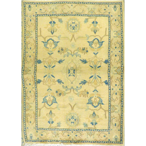 "persian rug sarough Traditional Style Hand-Knotted Indoor Area Rug with Natural Wool and Cotton (6'5"" X 3'11"") ABCRG1027"