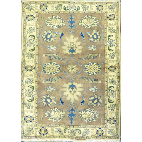 "persian rug sarough Traditional Style Hand-Knotted Indoor Area Rug with Natural Wool and Cotton (6'9"" X 3'11"") ABCRG1037"