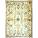 "persian rug sarough Traditional Style Hand-Knotted Indoor Area Rug with Natural Wool and Cotton (6'5"" X 3'11"") ABCRG1060"