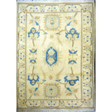 "persian rug sarough Traditional Style Hand-Knotted Indoor Area Rug with Natural Wool and Cotton (4'11"" X 3'3"") ABCRG1137"